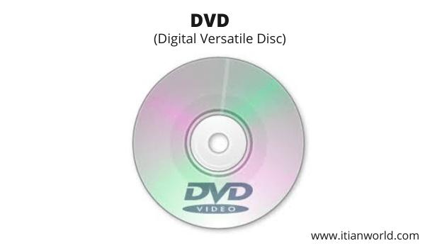 Full Form of DVD