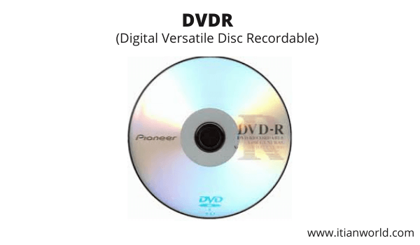 Full Form of DVD R