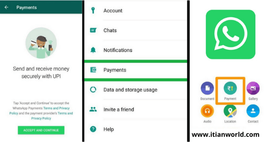 Whatsapp Pay Payment Option