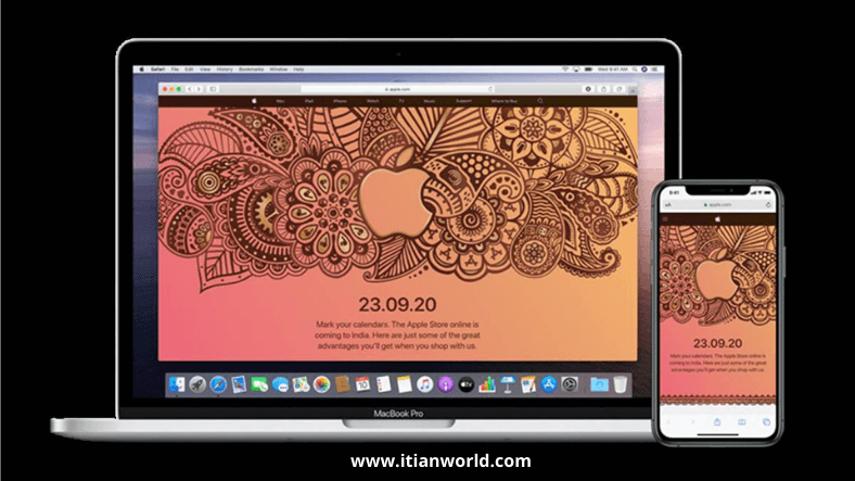 Apple will launch its online store in India on September 23