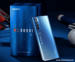 Oppo Reno 4 Pro Galactic Blue Edition Launched in India: Price, Specifications