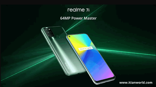 Realme 7i phone may be launched in India with Fusion Green and Fusion Blue colours