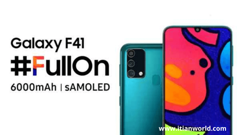 Samsung Galaxy f41 Mobile price in India